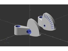 FPV Camera Mounting Brackets (Parametric)