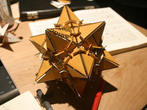 1st stellation of a dodecahedron