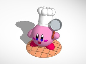 Chef Kirby Kitchen Model