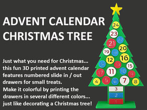 Advent Calendar Christmas Tree