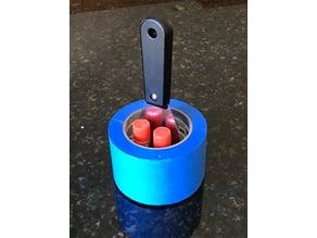 Simple tape, Scraper & glue holder