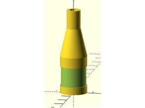 Customisable tube adaptor