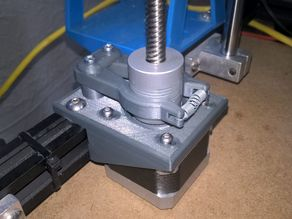Z-Motor Brake and Mount for Ender-4 (may fit others)