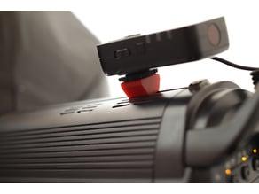 external trigger mount for Jinbei studio flash (designed for DPIII)