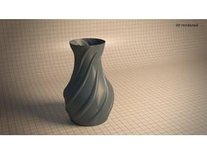Simple Spiral Vase