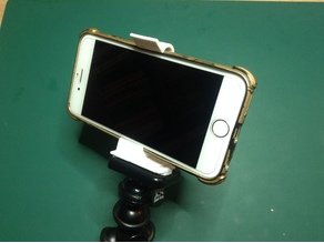 Gorillapod Clamp for iPhone6 WITH Cover