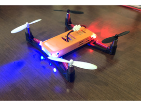Hubsan X4 Racing Body (7mm Motors)