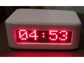 4x8x8 LED Dot Matrix Clock