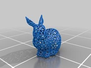 voronoi mesh bunny rabbit