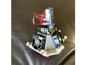 Kossel Mini Magball Effector with PCB Mount