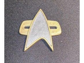 Star Trek VOY / DS9 Badge (2 piece design)