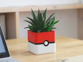 Pokemon Planter - Pokeball Minimal Planter