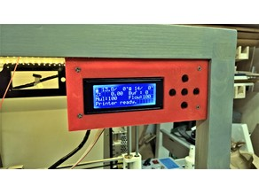 Anet A8 display lcd simple box