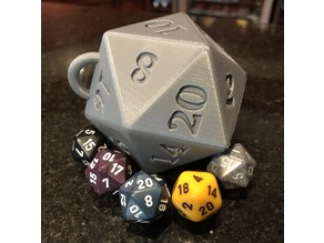 D20 Holiday Tree Ornament
