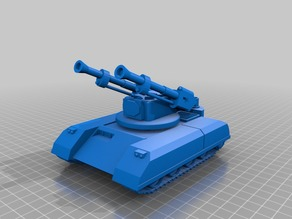 ork / orc Flak tank 28mm wargames vehicle