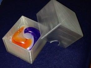 Travel Box for Laundry Soap Pod