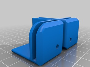 bed stabilizer and glass mount for anet a8 or similar