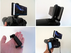 Camera hot shoe - Universal phone holder