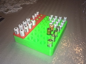 AA AAA Rechargeable Battery Holder