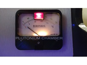 Back to the Future Plutonium Chamber Gauge