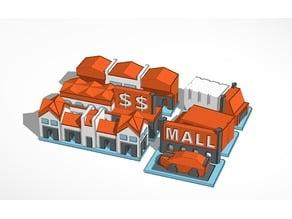 street 2 - buildings