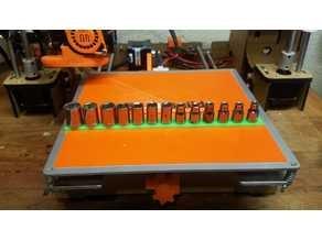 1/4 drive socket rack