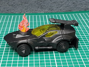 Gaslands On-Fire Marker