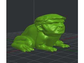 Trump Bull Frog