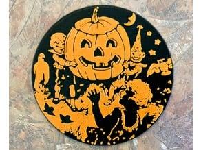 Halloween Curio ~ Pumpkin ~ RETRO