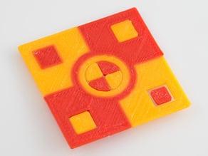 Dual Extruder Calibration Print
