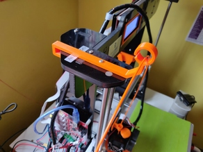 ANET A8 Side Filament Guide