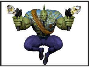 Savage Dragon Tabletop Kit 3D print model