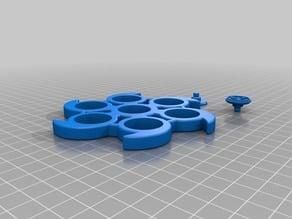 Six Side Fidget Spinner w/ Caps