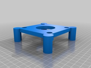 Raspberry Pi Rack - TP-Link TL-SG105 stand