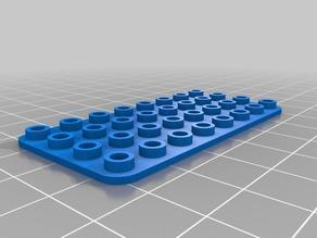 4 x 6 base LEGO-Compatible Brick