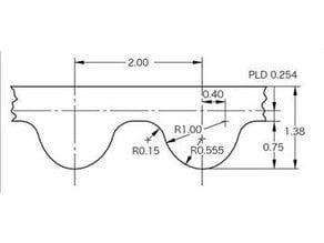 GT2 Belt accurate Path