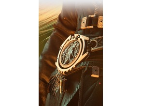 Sephiroth Belt Buckle (Final Fantasy VII Remake)