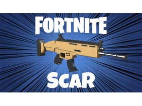 Fortnite Legendary SCAR (Full Size)