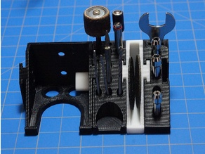 Yet another modular Dremel drill hanger