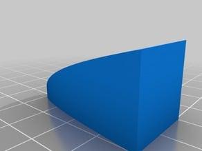 UNCC Calculus 2 MATH 1242 Non Rotational Solids Question 10