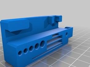 Ender 3 / CR-10 Tool Holder Modified for x3 keys
