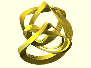 Extrude-Scale by Function: Ribbons