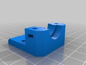 Slim bowden hexagon mount