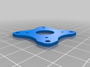 30.5x30.5mm (M3) to 20x20mm (M2) adapter for freestyle quad