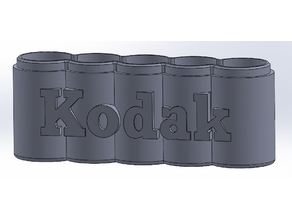 120 Film Container Case Box - Kodak