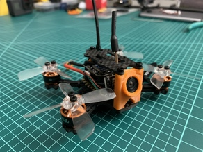 X2 Elf Camera Mount and Rear Standoff 25mm