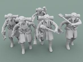 Legion Of Metal Assault troops