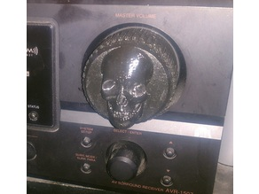 Replacment Stereo Skull Knob Volume 2in