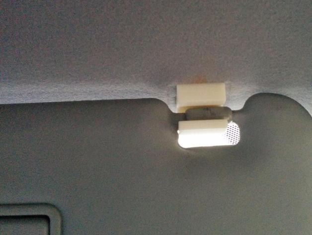 Honda fit visor clip