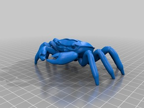 Crab SD Card Holder